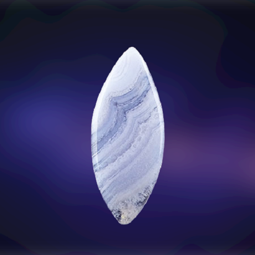 Natural Blue Lace Agate Code  54