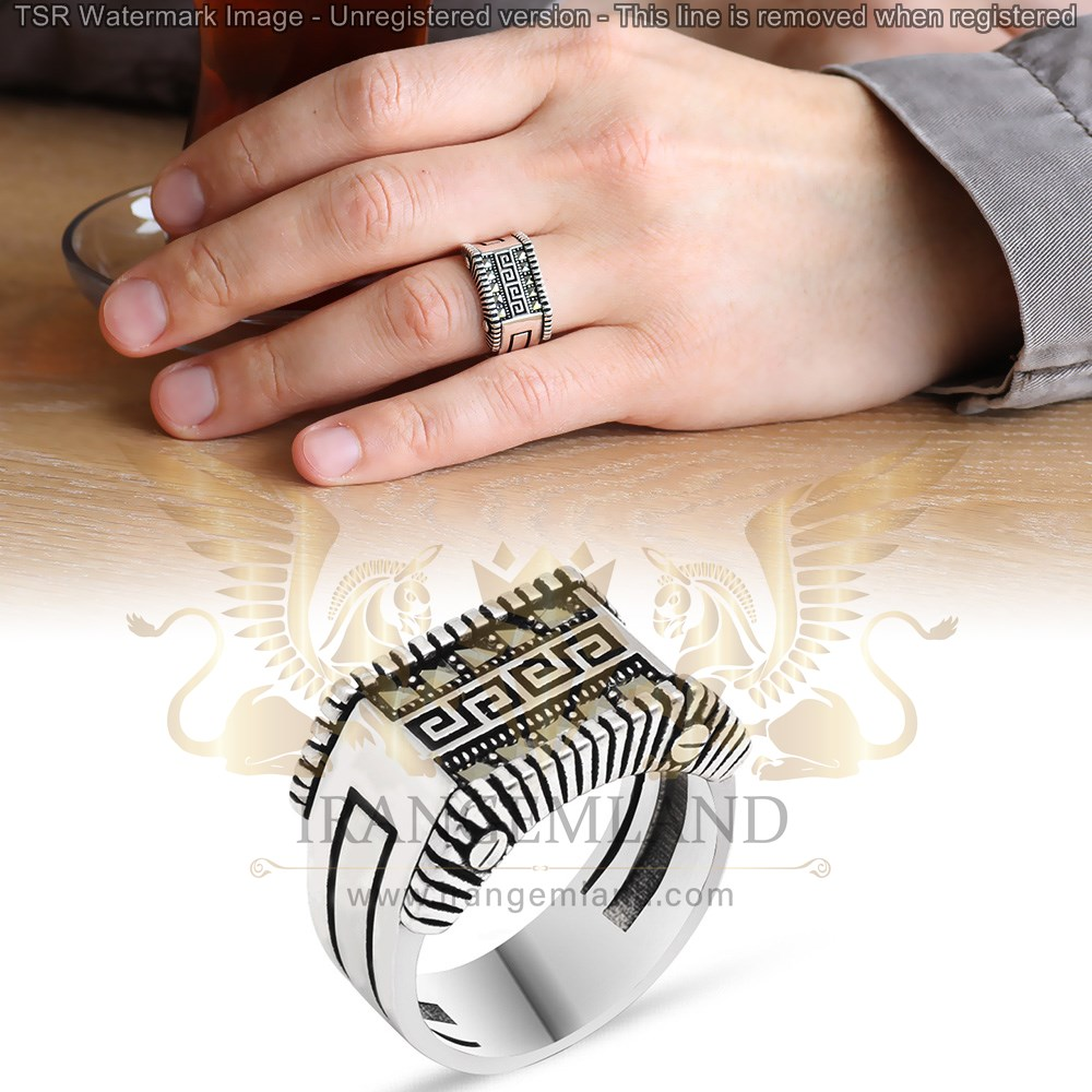 ring silver code 0085