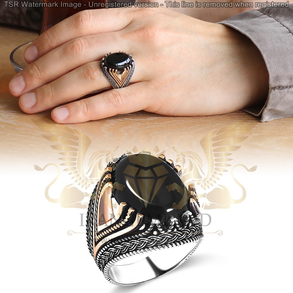 ring silver code 0086