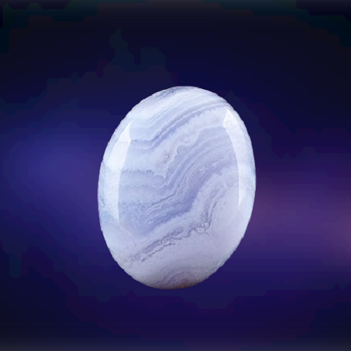 Natural Blue Lace Agate Code  46