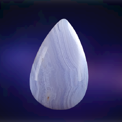 Natural Blue Lace Agate Code  17