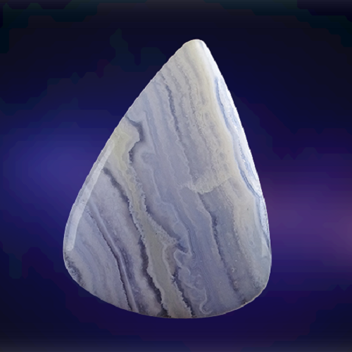 Natural Blue Lace Agate Code  19