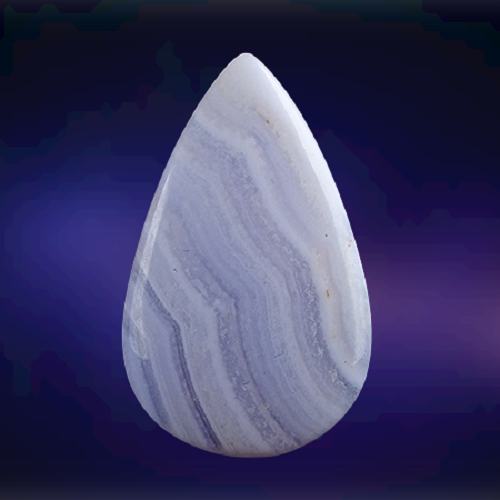 Natural Blue Lace Agate Code  21
