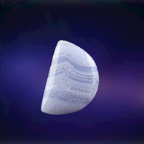 Natural Bluelace Agate Code 38